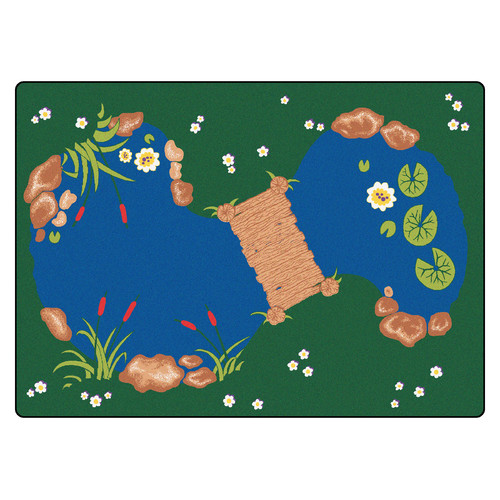Carpets for Kids Printed The Pond Area Rug