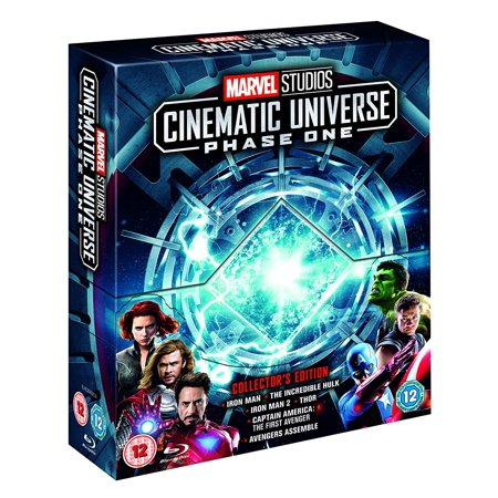 Marvel Studios Cinematic Collection Phase 1 Collector's Edition Blu (Marvel Phase 3 Box Set Release Date)