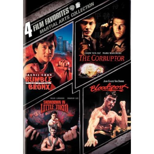 4 Film Favorites: Martial Arts: Militant Eagle   Prodigal Boxer   Moonlight Sword   Bloody Fists (Full Frame) by WARNER HOME VIDEO