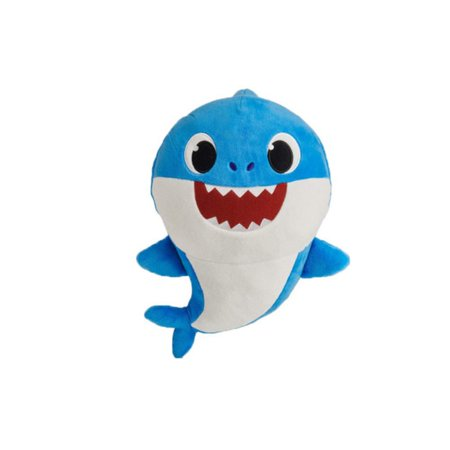 Best Stuffed Animals For Babies (Tinymills Baby Shark Soft Plush Doll Music Toys Singing English Song For kids baby Gift With Music)