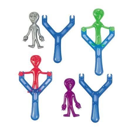 Fun Express - Alien Shooter - Toys - Value Toys - Shooters & Swords - 12 Pieces