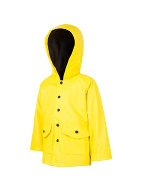 Oakiwear Kid's Yellow & Black Rain Coat
