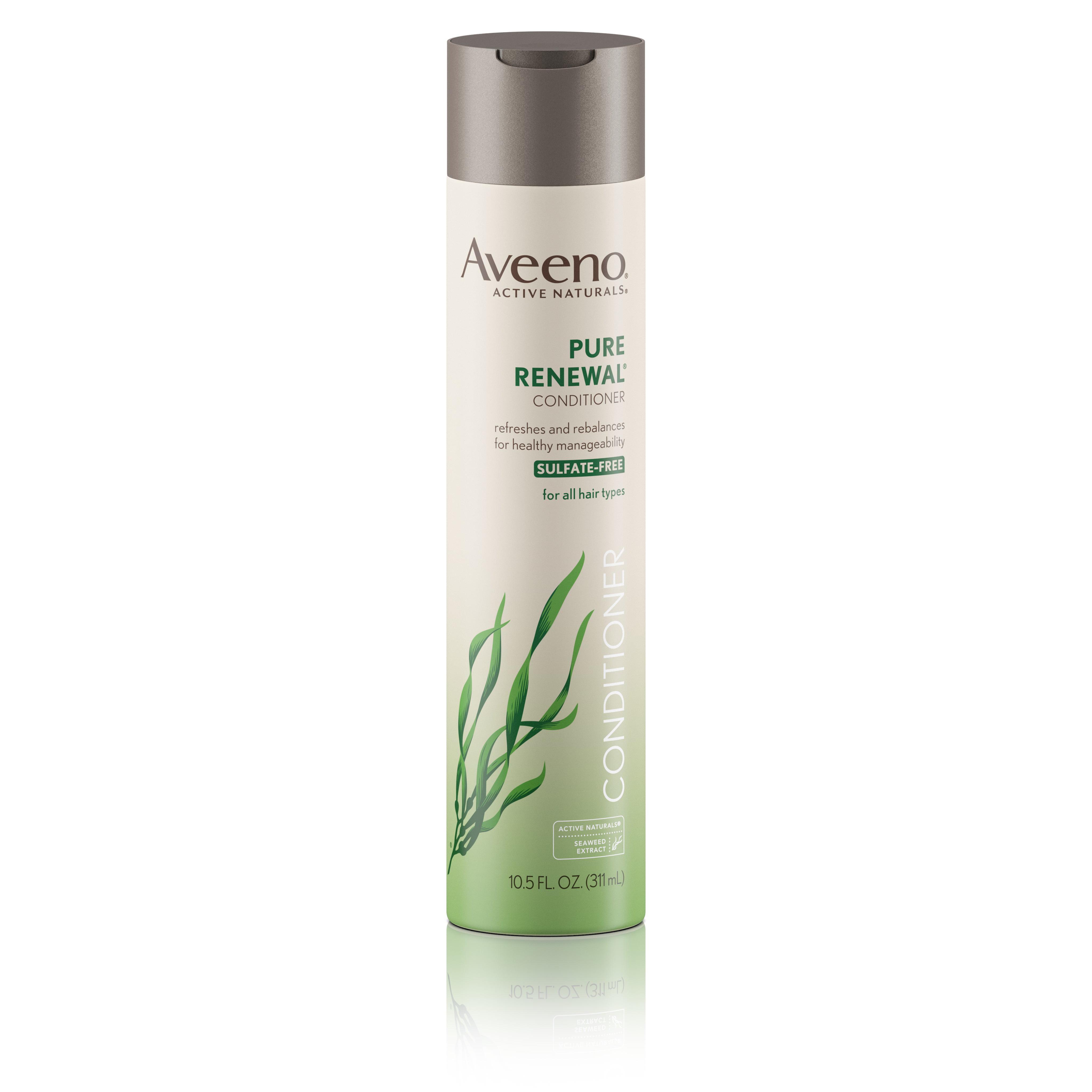 Aveeno Pure Renewal Conditioner, Sulfate-Free, 10.5 Fl. Oz