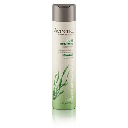 Aveeno Pure Renewal Hair Conditioner, Sulfate-Free, 10.5 fl. oz