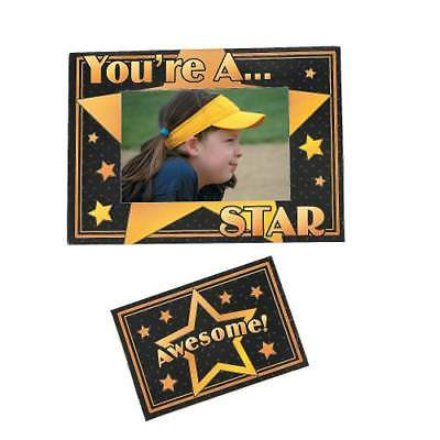 IN-12/4309 You're A Star Picture Frame Magnets - Star Photo Frame