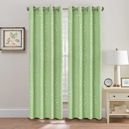 Hversailtex Teen Girl Room Curtains Printed Soft Microfiber Room