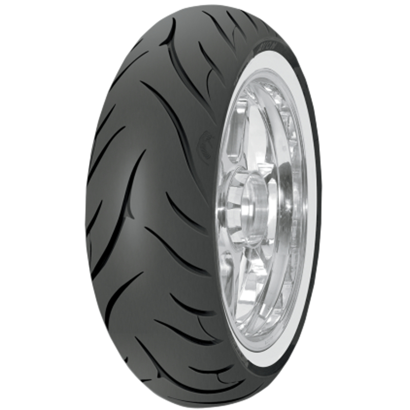 Avon Tyres Cobra AV72 Reinforced White Wall Bias-Belted Rear Tire 150/80B16