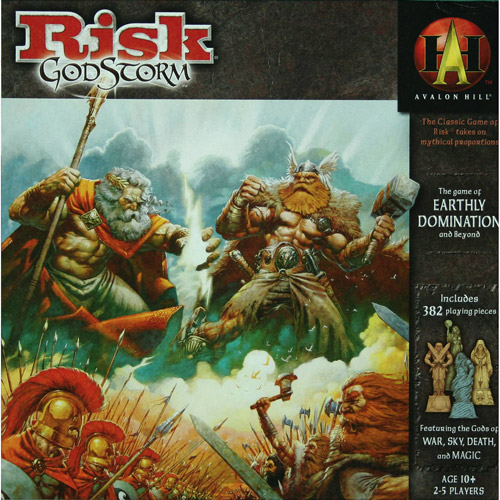 Wizards of the Coast RISK Godstorm Game by Generic