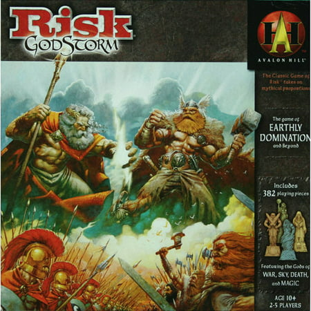 Wizards of the Coast RISK Godstorm Game
