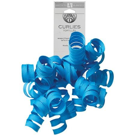 Jillson & Roberts Grosgrain Curlie Gift Bows, Blue (120 Pcs)](Blue Bows)