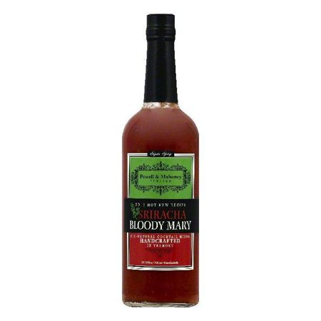 Powell & Mahoney Super Spicy Sriracha Bloody Mary Non-Alcoholic Cocktail Mixer, 25.36 OZ (Pack of - Halloween Bloody Mary Cocktail