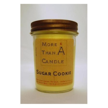 Cookie Jar Candle - More Than A Candle SGC8J 8 oz Jelly Jar Soy Candle, Sugar Cookie