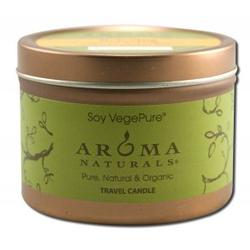 Aroma Naturals - Relaxing Lavendar Tangerine Candle,  Travel Candle, 1 ea