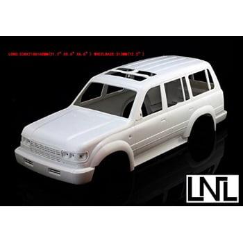 JKshop 1:9 1 Lc80 Land Cruiser Toyato 4 Runnber 313mm Wheelbase Hard Body  Bodies for Scale Rc Crawler Scx10 Axial