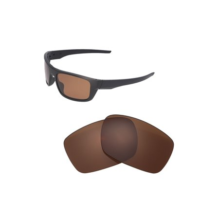 Oakley Drop Point >> Walleva Brown Polarized Replacement Lenses For Oakley Drop Point