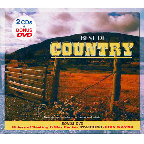 Best Of Country (2CD) (Includes DVD) (Digi-Pak)