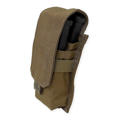 Tacprogear Coyote Tan Staggered Rifle Mag Pouch