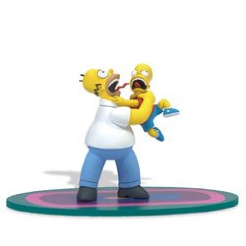 McFarlane: Homer & Bart: Simpson's Figure