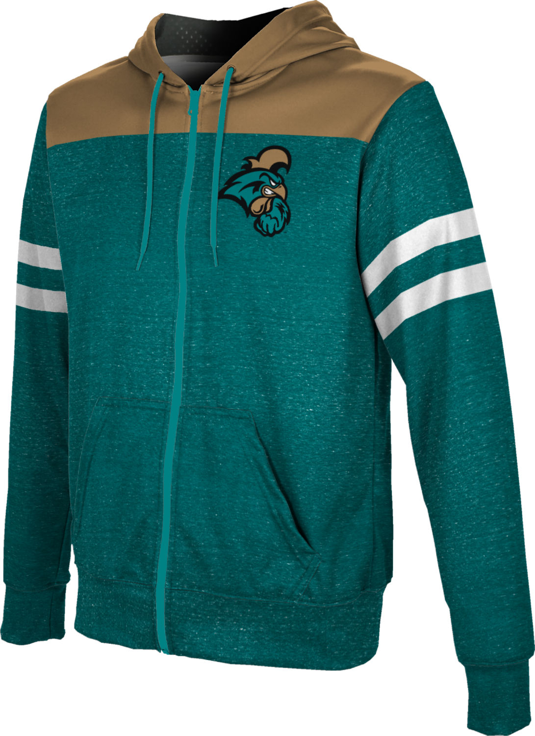 ProSphere Boys' Coastal Carolina University Gameday Fullzip Hoodie
