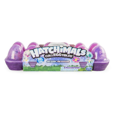 Hatchimals CollEGGtibles, 12 Pack Egg Carton with Exclusive Season 4 Hatchimals CollEGGtibles, for Ages 5 and Up (Styles and Colors May Vary) (Toys For Girls Age 7)