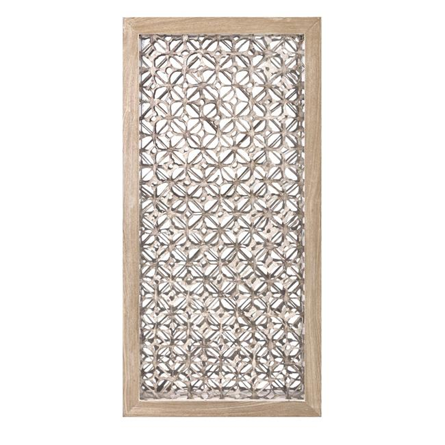 IMAX 75057 Wiley Dimensional Wall Art, Beige - image 1 of 1