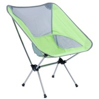 HERCHR Portable Folding Aluminum Alloy Chair for Outdoor Fishing Camping Barbecue Picnic, Camping Chair,Folding Chair