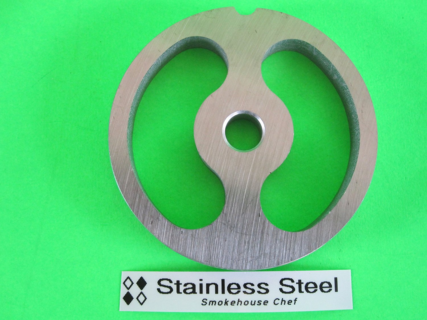 #22 Kidney Sausage Stuffing plate for Hobart LEM Cabelas TorRey MTN Meat Grinder. Stainless steel by Fits most... by
