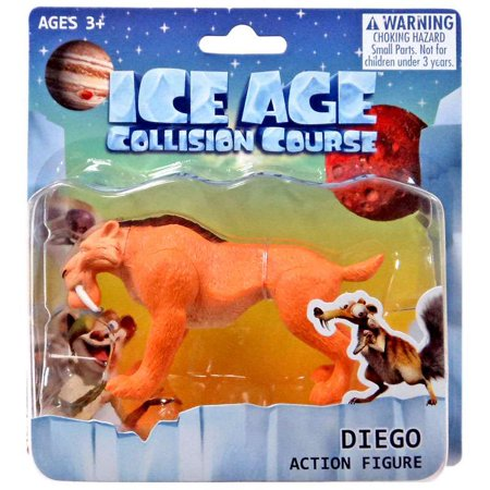 Ice Age Collision Course Diego Action Figure ()