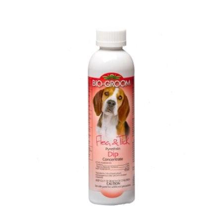 Bio-Groom Flea & Tick Pest Control Pyrethrin Dip, 8 Fluid Ounce by BIO-DERM LABORATORIES, INC.