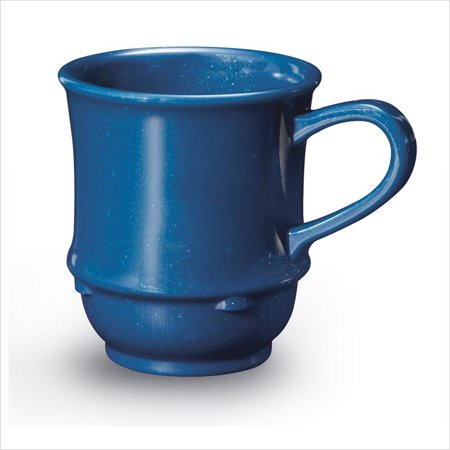 (8 oz 3.25 x 3.5 Stacking Mug Texas Blue SAN/Case of 24)