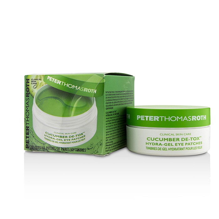 Cucumber De-Tox Hydra-Gel Eye Patches-30 Pairs