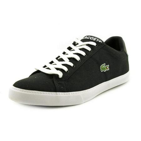 Lacoste Graduate Vulc Fb Spm Men  Round Toe Canvas Black Sneakers