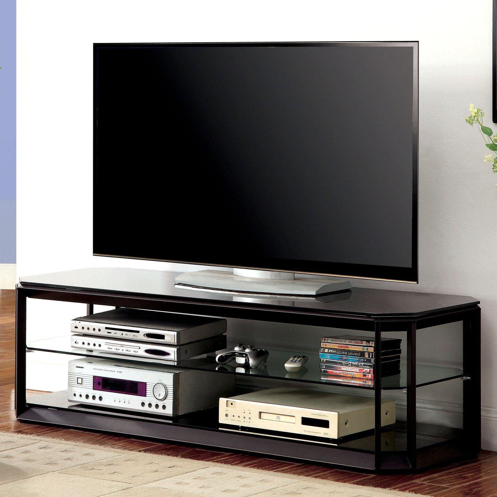 Furniture of America Gallen Contemporary 60 in. TV Console