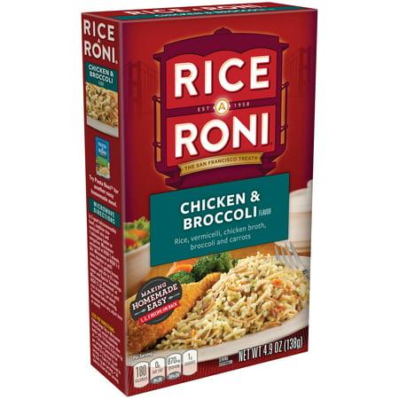 Rice-A-Roni Rice & Vermicelli Mix, Chicken & Broccoli, 4.9 oz Box