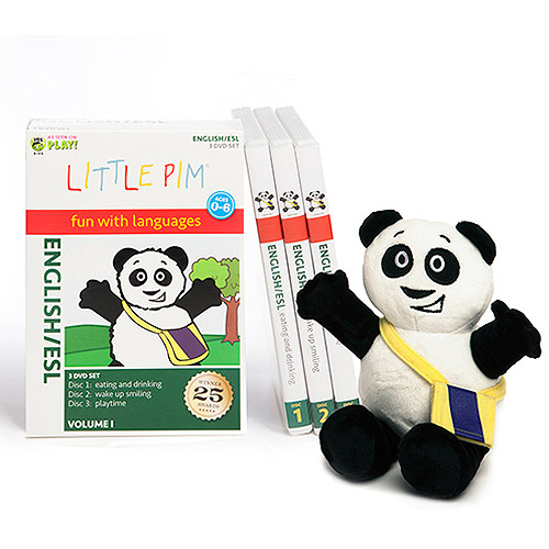 Little Pim English For Kids Discovery Language Set W English Subtitles (Vol. I)