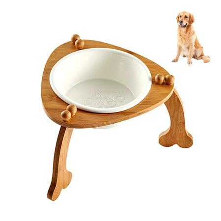 Elevated Dog Bowl Petacc Ceramic Pet Bowl Raised Pet Water Bowls