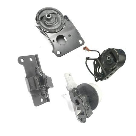 Fits: Engine Motor & Trans. Mount Set 4PCS for 2004-2009 Nissan Quest 3.5L for Auto Transmission 5Spd 04 05 06 07 08 09 A7348 A7349EL A7351