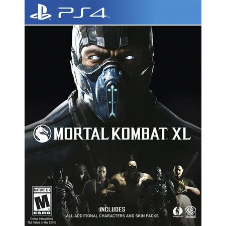 Mortal Kombat XL - Pre-Owned (PS4) (Mortal Kombat X Halloween Pack 2)