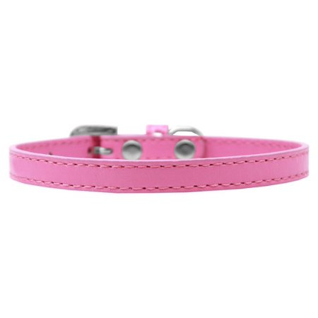 Mirage 509-1 BPK-8 Omaha Plain Puppy Collar Bright Pink - Size