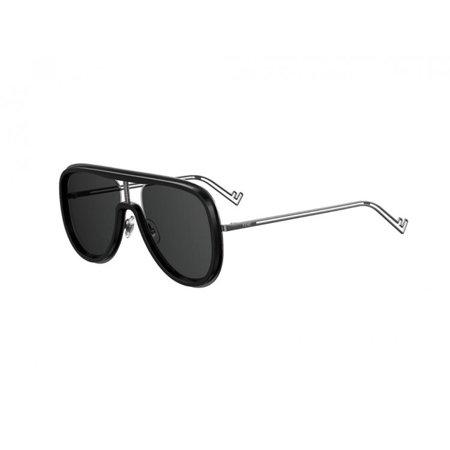 Fendi Grey Men's Sunglasses FF M0068/S ANS 57