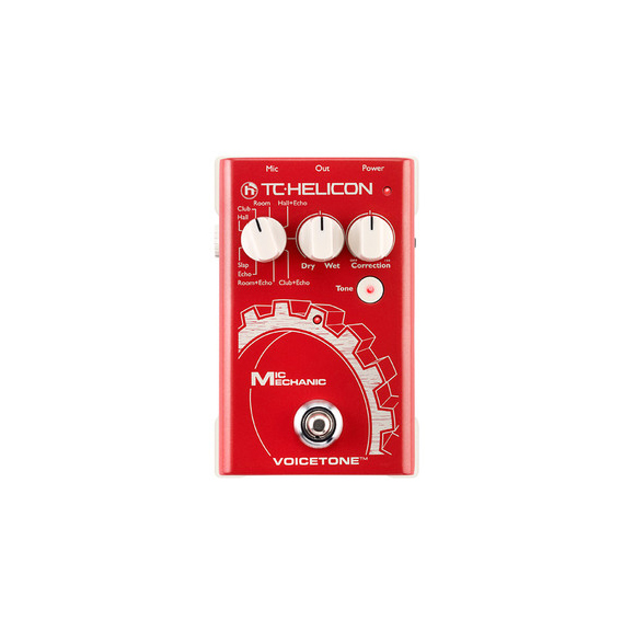TC Helicon Mic Mechanic Vocal Processor Pedal by