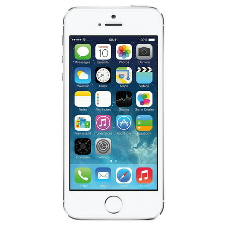 Apple iPhone 5s 32GB Unlocked GSM 4G LTE Dual-Core Phone w/ 8MP Camera - Silver