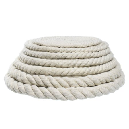 West Coast Paracord Original Natural Cotton Rope - Choose from 3/4