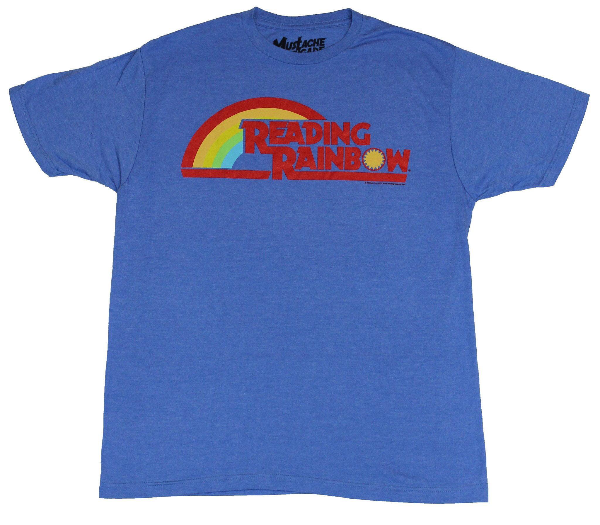 Reading Rainbow Mens T-Shirt