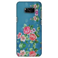 Samsung Galaxy S8 Plus Designer Case, Premium Handcrafted Printed Designer Hard ShockProof Case Back Cover for Samsung Galaxy S8 Plus G955 - Rose Print Provencal
