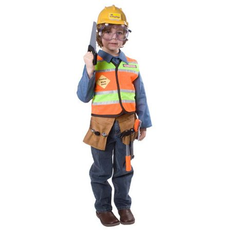 dress up america boys construction worker costume walmart com