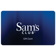 Sam's Club Everyday Blue Gift Card