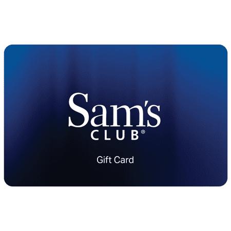 Sam's Club Everyday Blue Gift Card