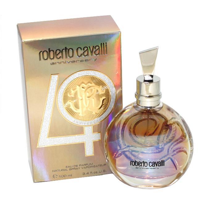 ROBERTO CAVALLI 40th ANNIVERSARY 3.4 oz EDP Spray Women's Perfume 100 ml NEW NIB