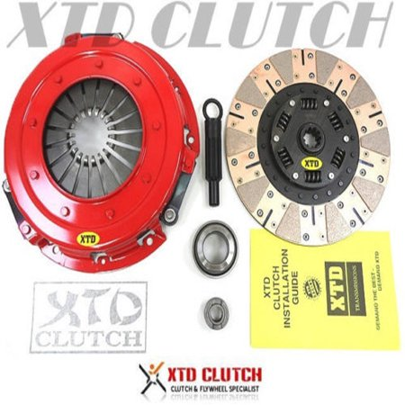 93 Mustang Lx Hatchback (XTD STAGE 3 DUAL FRICTION CLUTCH KIT 86-01 MUSTANG GT LX COBRA 5.0L 4.6L)